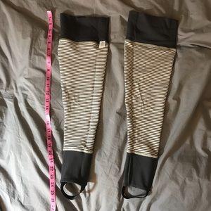 Lululemon reversible leg warmers!!
